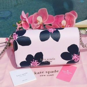 Kate Spade Cameron Grand Flora Smal Flap Crossbody
